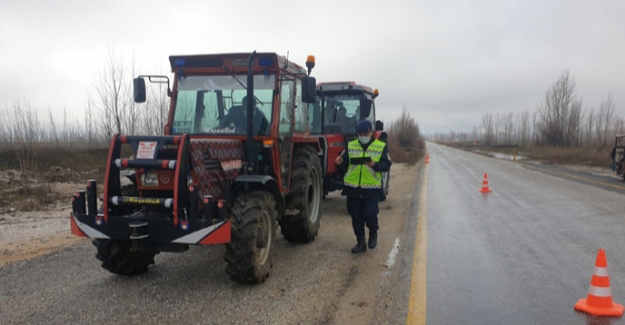 Jandarmadan tarım araçlarına denetim