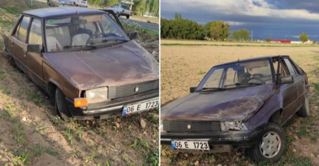 Elbistan'da kontrolden çıkan otomobilin sürücüsü yaralandı