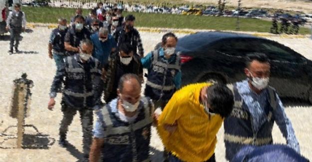 Elbistan'da fuhuş operasyonu: 3'ü yabancı uyruklu 9 kişi yakalandı