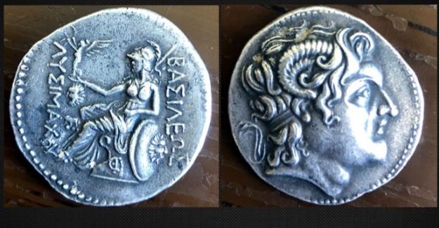 Roma dönemine ait paraya jandarma el koydu