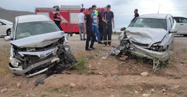 Afşin – Elbistan yolunda feci kaza: 5 yaralı