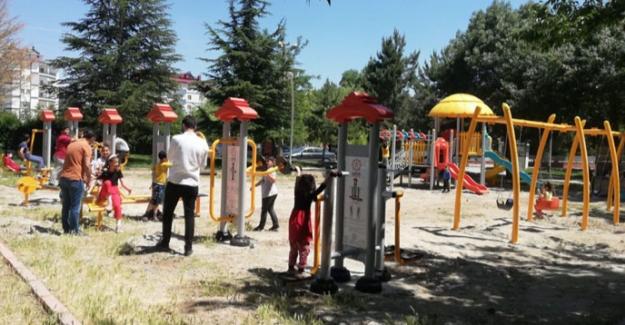 Elbistan belediyesi oyun gruplarını yeniliyor