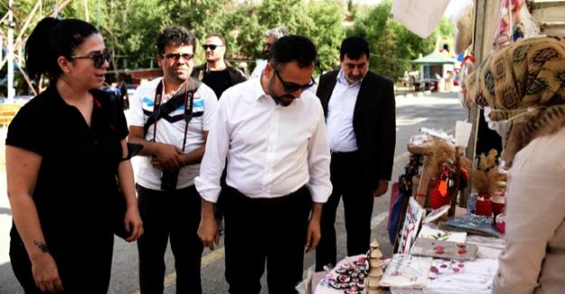 """Başkan Gürbüz, """"Festival şehrin ekonomisini canlandırdı"""""""