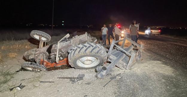 Elbistan'da feci kaza 4'ü ağır 5 yaralı