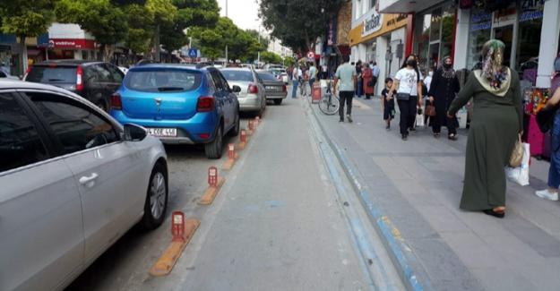 Elbistan Belediyesi 'Bisiklet yolunu' vatandaşa sordu