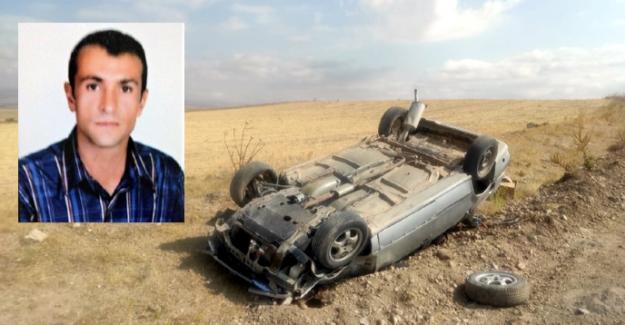 Elbistan'da trafik kazası 1 ölü