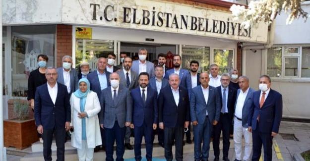 TBMM Başkanı Mustafa Şentop Elbistan'da