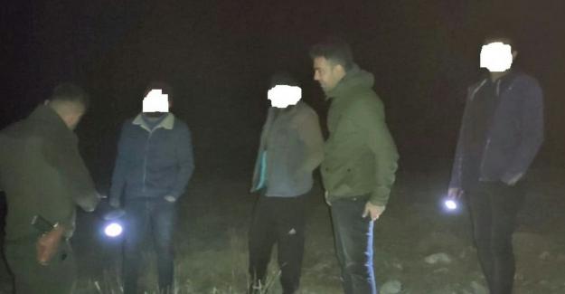Elbistan'da yasa dışı avlanan 3 kişi yakalandı