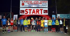 8. Uluslararası Ultra Maraton Koşusu Başladı