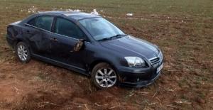 Elbistan'da otomobil devrildi: 1 yaralı