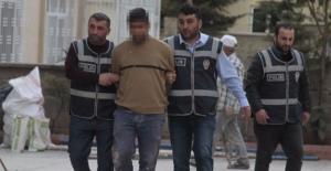 Polis firari hükümlüyü inşaatta çalışırken yakaladı