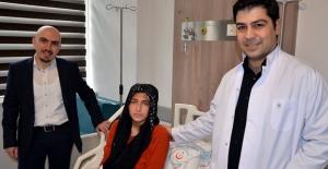 Hamile kadına beyin ameliyatı yapıldı