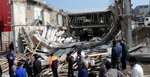 Çöken inşaatta 6 işçi yaralandı