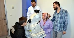 Devlet Hastanesine Göz Tomografi Cihazı