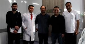 Elbistan'da ilk kez kapalı böbrek taşı ameliyatı yapıldı