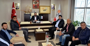 Elbistanspor'dan AK  Partiye ziyaret