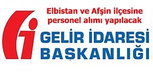 Elbistan ve Afşin'de 10 kişiye memur olma imkanı