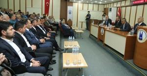 Ünal, Elbistan'da STK temsilcileri ile buluştu