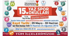 Yaz spor okulları 29 Haziran'da açılıyor