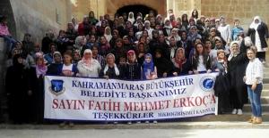 Girişimci kadınlardan başkan Erkoç'a teşekkür