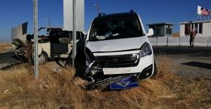 Malatya yolunda kaza 4 yaralı