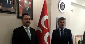 Cumhur İttifakı adayı Gürbüz'den MHP'ye ziyaret