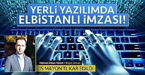 Milli bilgi sistemine Elbistanlı imzası!