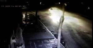 Elbistan'da polis drift atan sürücüyü mobese ile belirledi