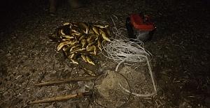 Usulsüz balık avlayanlara ceza