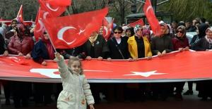 Elbistan'da 'Cumhur İttifakı Birlik Yürüyüşü' yapıldı