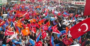 Elbistan'da Cumhur İttifakından Zafer Yürüyüşü