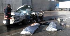 Feci kazada 2 Ölü, 3 Ağır Yaralı