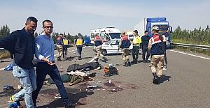 Kazada ölen ve yaralanan kişilerin...