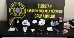 Elbistan Emniyetinden uyuşturucu operasyonu