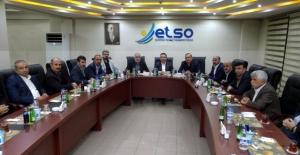 Başkan Gürbüz, ETSO Meclisi'nin konuğu oldu