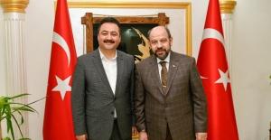 Başkan Gürbüz, Mado'yu Elbistan'a Yatırıma Davet Etti