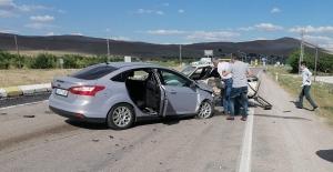 Afşin Elbistan yolunda çok feci kaza: 8 yaralı