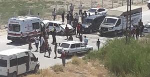 Elbistan'da trafik kazası 3 yaralı