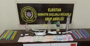 Elbistan'da uyuşturucu ticaret yapan 2 kişi tutuklandı