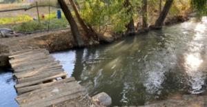 Elbistan#039;da sulama kanalına düşen...