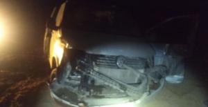Elbistan#039;da trafik kazası: 1...