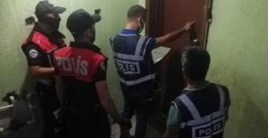 Polis aranması olan 103 kişiyi yakaladı
