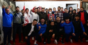 Elbistan Belediyesi'nden Elbistan Spor'a dev destek