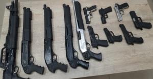 Polis denetimlerinde 62 adet silah...