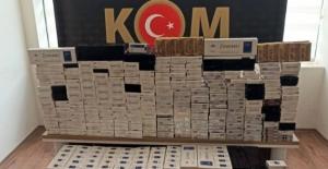 Kaçak sigara ticaretine polis baskını