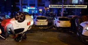 Zincirleme kazada yol savaş alanına dönüştü:...