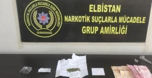 Elbistan'da uyuşturucu madde operasyonunda 2 kişi tutuklandı