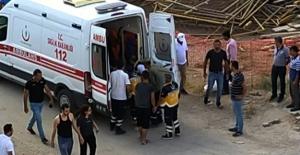 Elbistan'da inşaatın 4. katından düşen işçi yaralandı