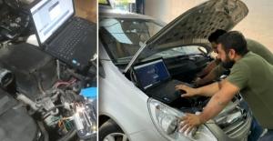 Elbistan'da teknolojik cihazlarla oto beyin tamiri yapılıyor