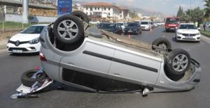 Trafik kazalarında 4 kişi yaralandı